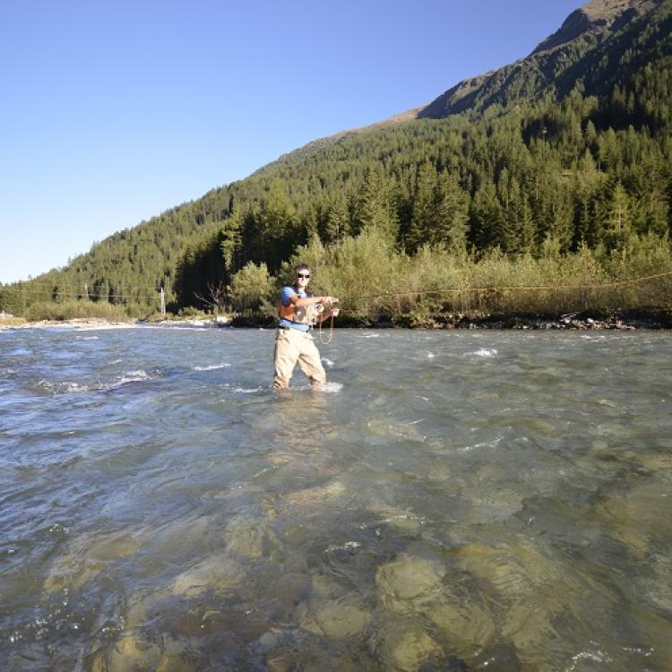 Fly fishing in austria around the jesacherhof hotel for Fishing for deals